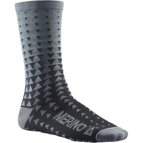 Mavic Ksyrium Merino Graphic Socks asphalt/black
